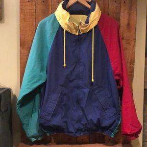 Brooks Brothers VTG reversible light jacket.Size L